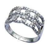 925 Sterling Silver & CZ Ring 20325374