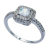 925 Sterling Silver & CZ Ring 1