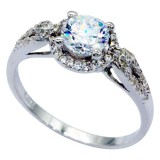 925 Sterling Silver & CZ Ring 2